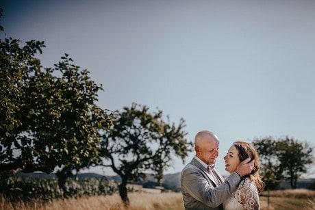 Hochzeitsfotograf im Saarland und der Pfalz - Brautpaarshooting Eventlocation Wildenburg