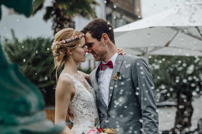 Hochzeit mit Brautpaarshooting in Deidesheim