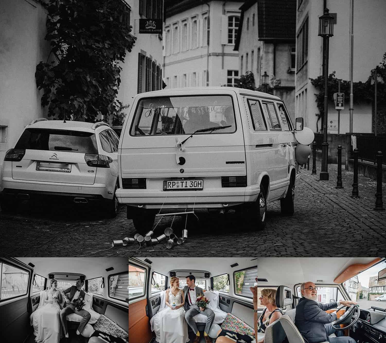 Hochzeitsfotograf im Saarland und der Pfalz - Hochzeit mit Brautpaarshooting in Forst an der Weinstraße