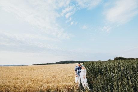 Familienfotograf Saarland Pfalz - Babybauch Schwangerschaftsshooting Coupleshooting